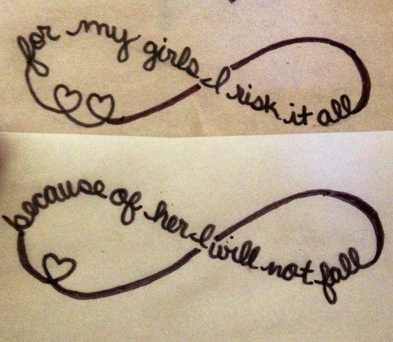 Loving Mother Daughter Tattoos | InkDoneRight