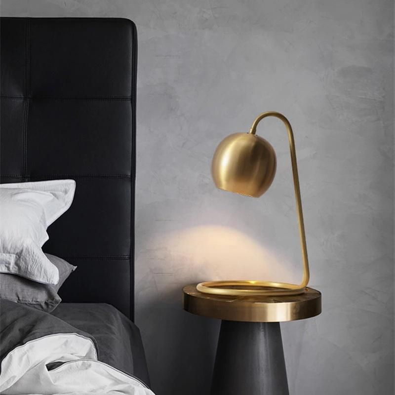 Industrial – Brass Table Lamp