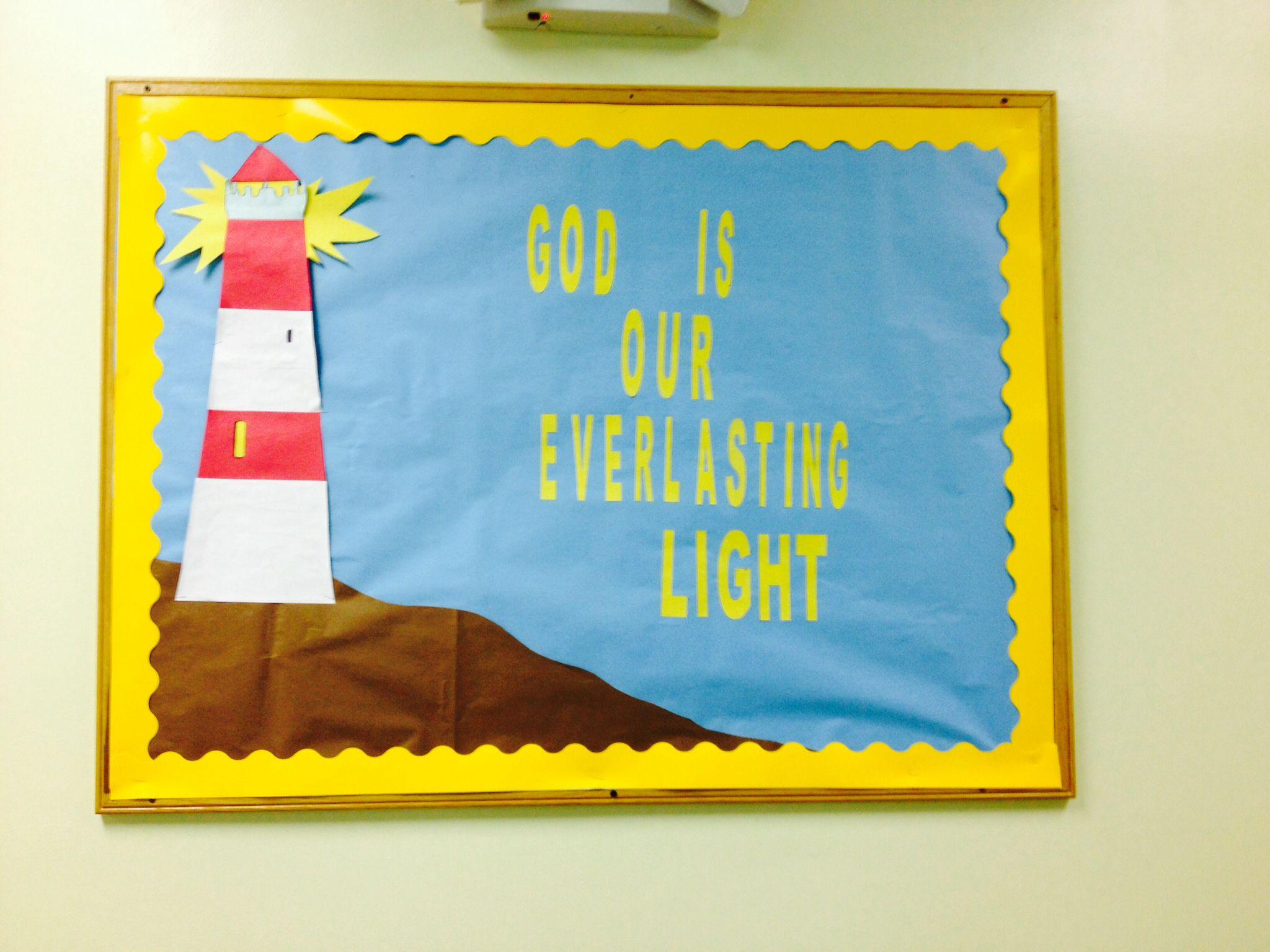 Summer Sunday School Bulletin Board Ideas Bullentin Boards Pinterest