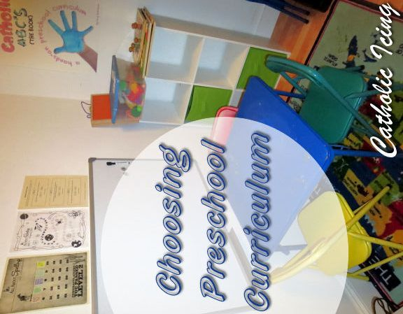 Preschool Curriculum- Recommendations for ages 2-4. Pre-Reading, Religion, Math, Montessori activities and more!