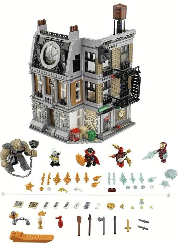 Lego Infinity War - Sanctum Sanctorum - Iron Spider! | Gotta love ...