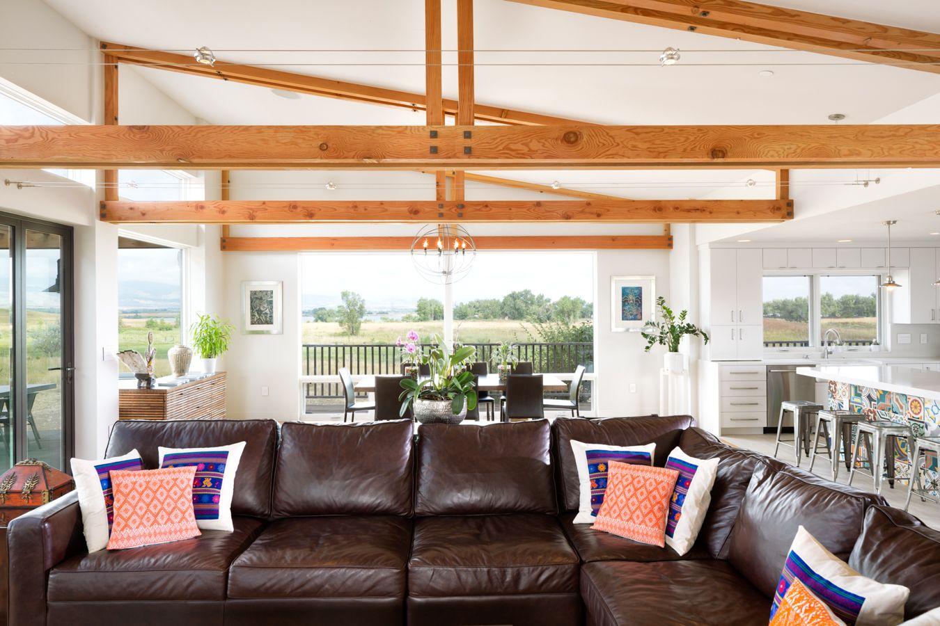 stylish whole home remodel  living room  melton design