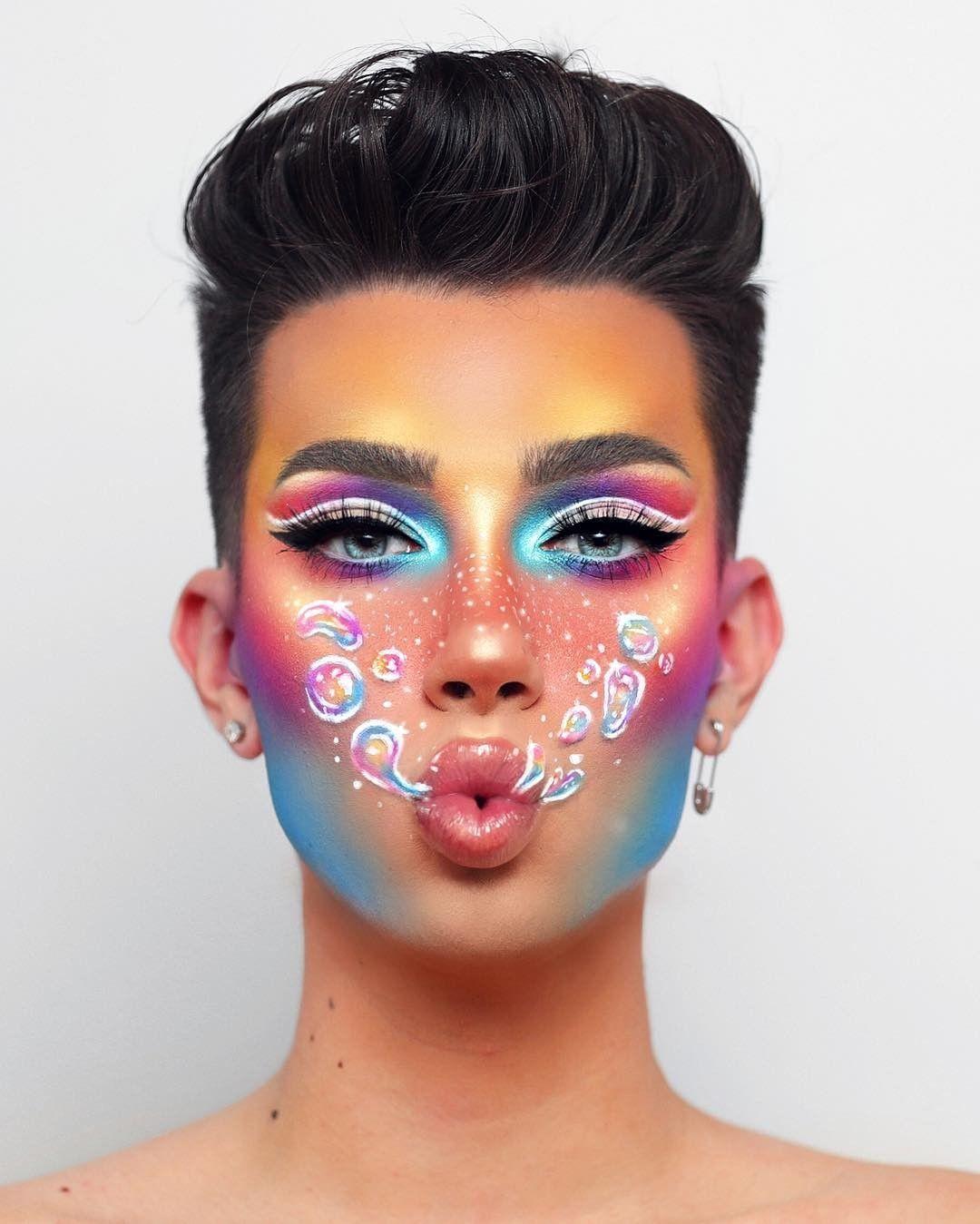 jamescharles  Artistry makeup, Creative makeup looks, Creative makeup
