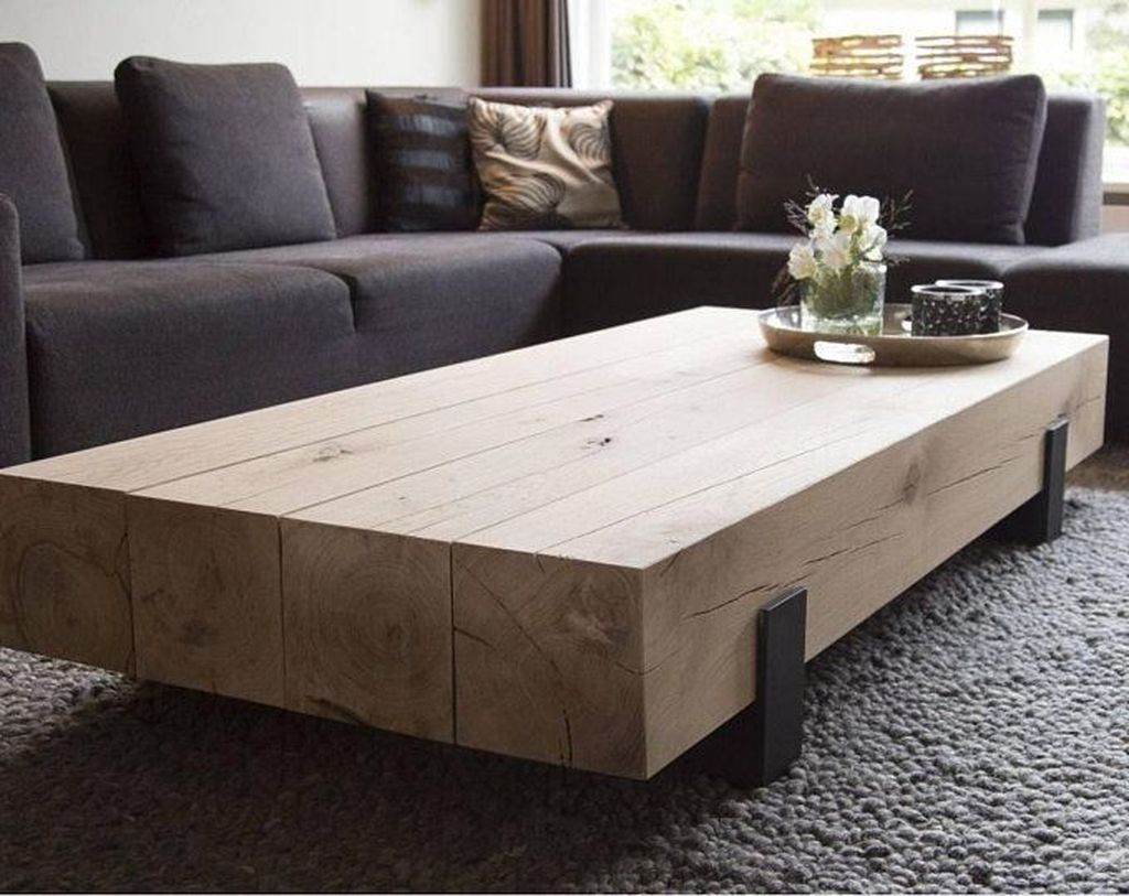 37 Creative Diy Coffee Table Design Ideas To Beautify Your Living Room Trendehouse Coffee Table Farmhouse Living Room Coffee Table Industrial Coffee Table [ 813 x 1024 Pixel ]
