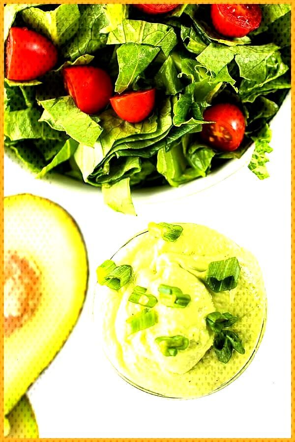 Avocado Green Goddess Salad Dressing The Lemon Bowl This creamy avocado green goddess salad dress