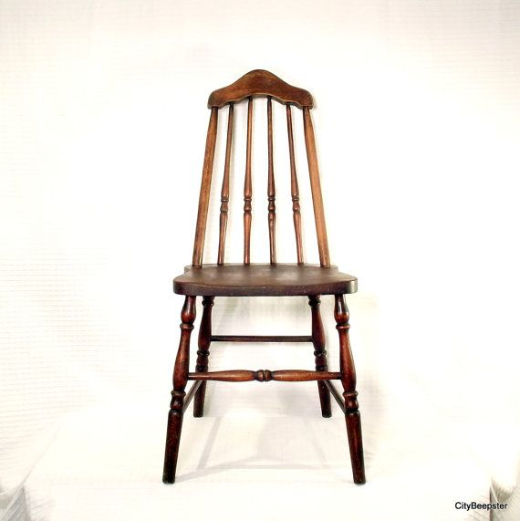 Pull Up a Chair Antique Wood Chair 1930s Taper by CityBeepster, $120.00 - Pull Up A Chair - Antique Wood Chair - 1930s - Taper Back - Kitchen