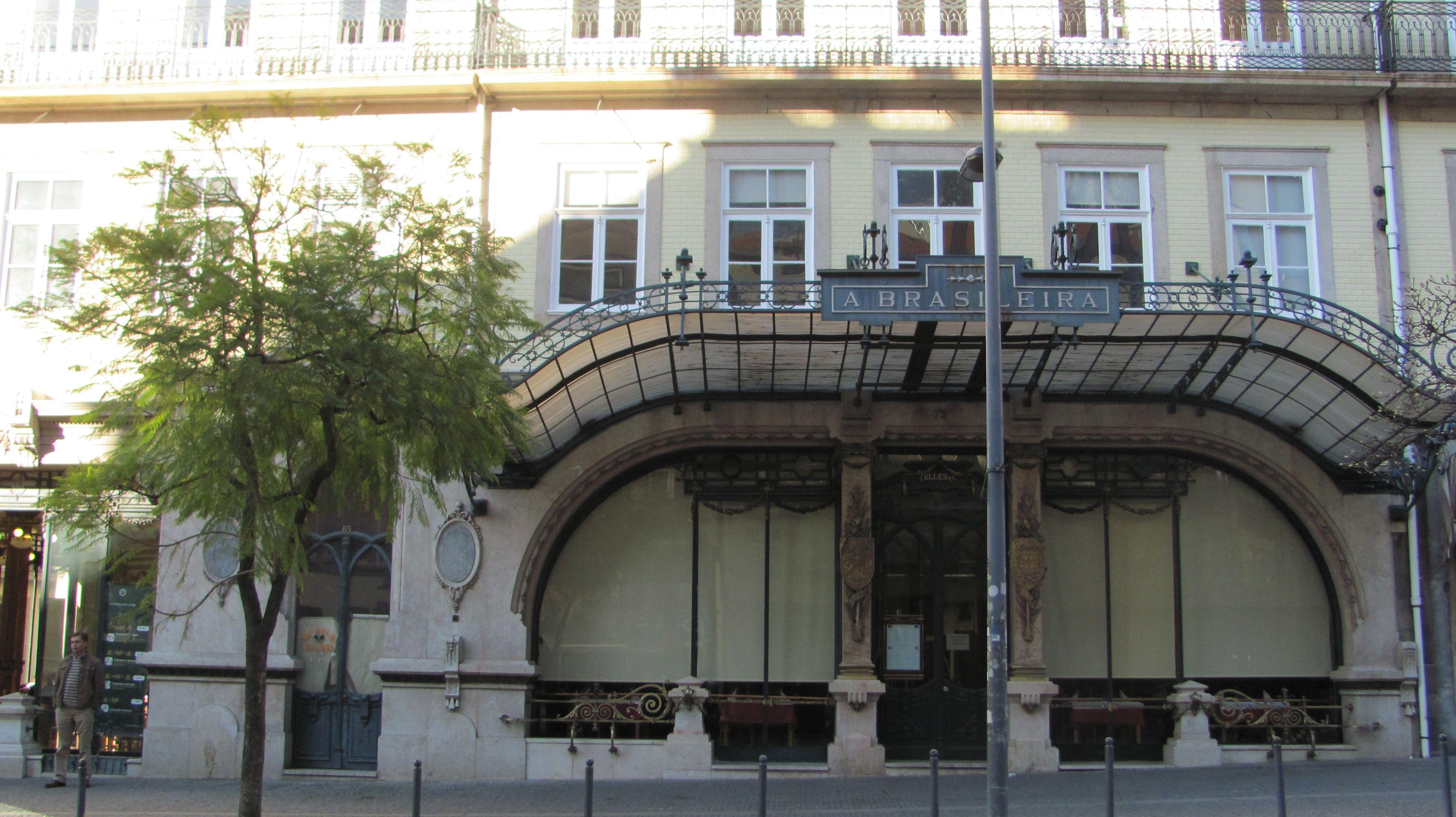 """Café """"A Brasileira"""", Trindade, Porto"""