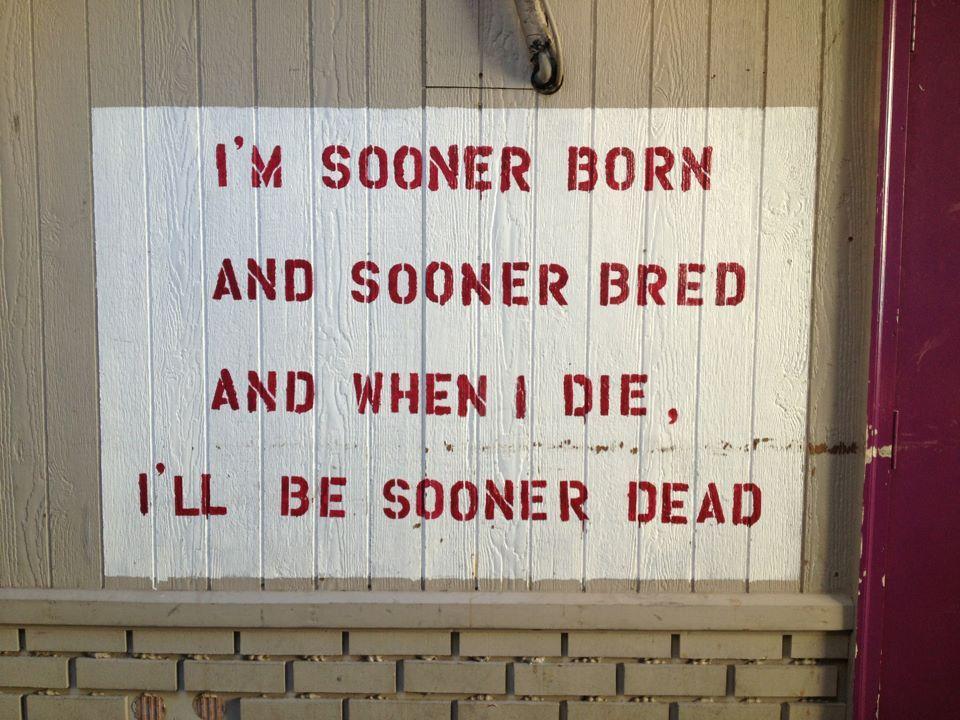 Sooner Born And Bred Boomer Sooner Sooners Oklahoma Sooners