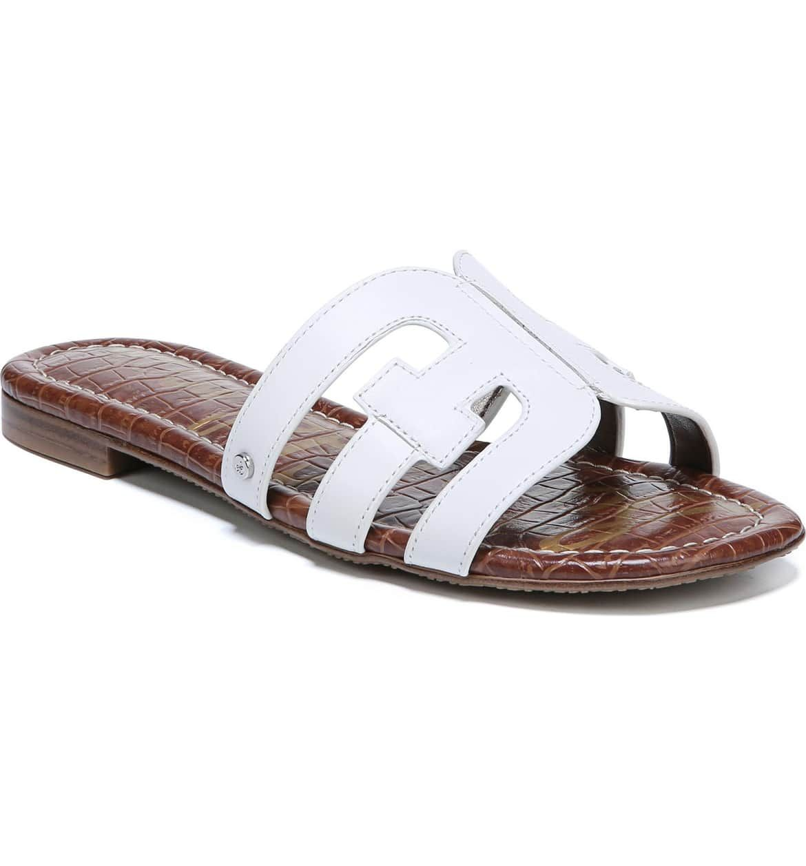 Sam Edelman Bay Cutout Slide Sandal (Women   Slide sandals