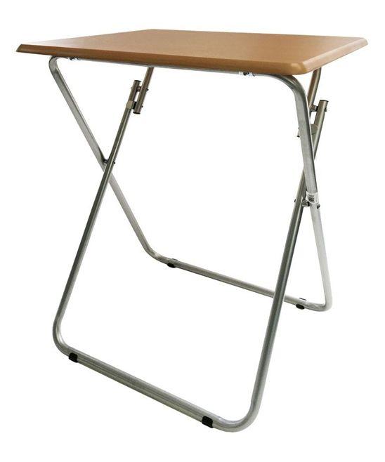 19u0027u0027 Beech Folding TV U0026 Snack Tray Table