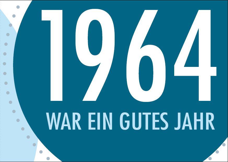 Einladungskarte Zum 50 Geburtstag 1963 War Ein Gutes Jahr