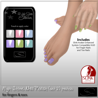New High Shine Nail Polish, Socks, Tights, VIP Gift @ Stellar