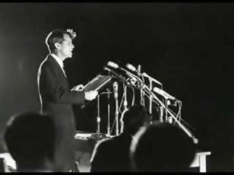 """""""Even in our sleep, pain which cannot forget  falls drop by drop upon the heart,  until, in our own despair,  against our will,comes wisdom  through the awful grace of God."""" ~ Bobby Kennedy, Indianapolis, 1968"""