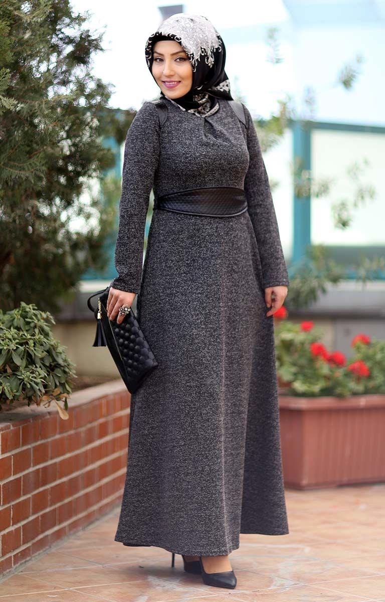 fae641bdf27c0 tesettür genç kışlık elbise modelleri | Tesettür | Elbise modelleri ...