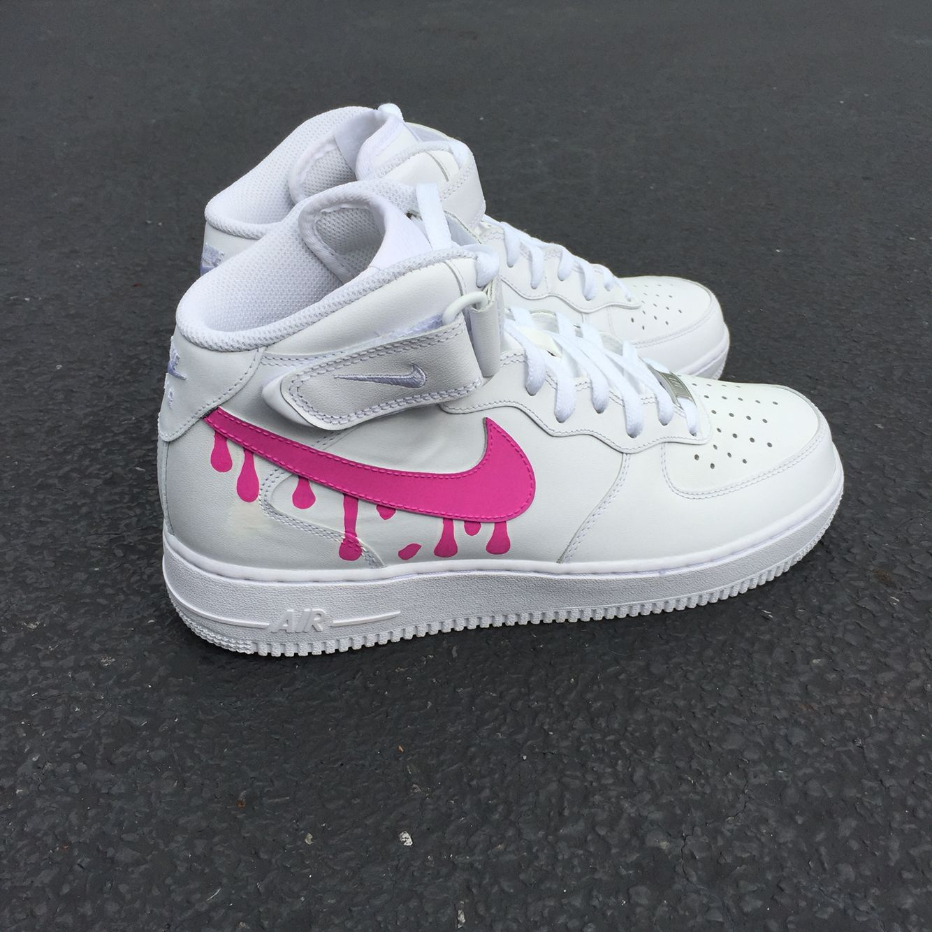9e1ff45a656 NIKE AIR FORCE 1 pink drip
