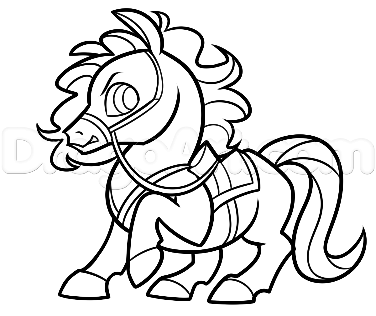 draw maximus from tangled chibi style step by step chibis draw