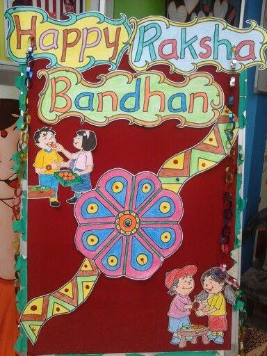Happy rakshabandhan also best school softboard says images charts child day children  rh pinterest