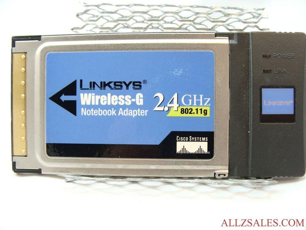 Cisco-Linksys WPC54G Wireless-G Notebook Adapter