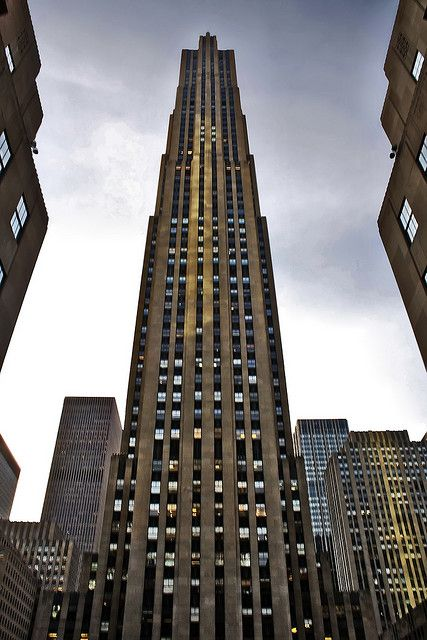 30 Rockefeller Plaza (30 Rock), New York 2009 by FromTheNorth, via Flickr
