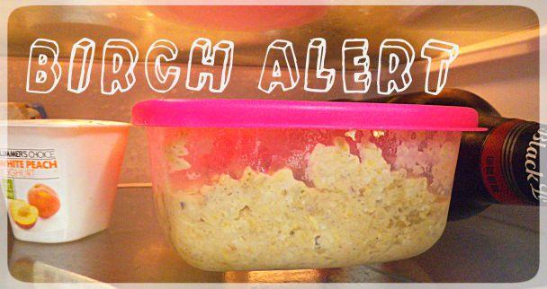 Herbalife Overnight Oats: Bircher Muesli Recipe: http://slinkyshakes.wordpress.com/2013/11/14/bircher-muesli-the-original-overnight-oats/