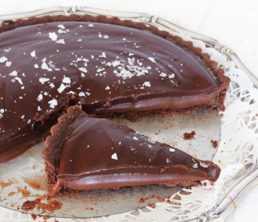 chokladkolapaj med flingsalt