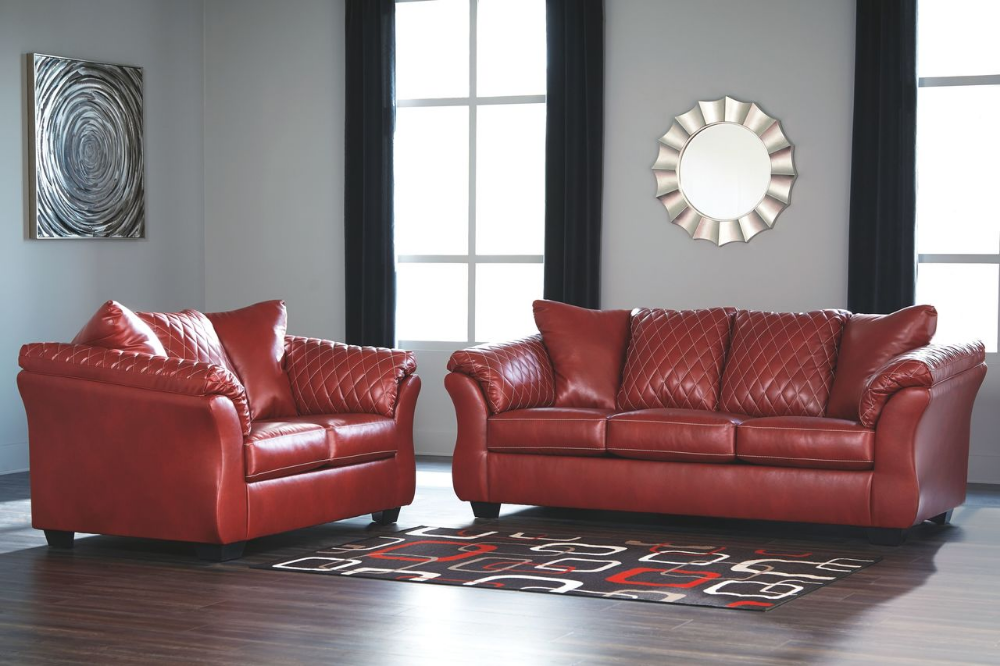 Best Ashley Betrillo Salsa Sofa Couch Loveseat On Sale At Bargains And Buyouts Serving Tri County 400 x 300