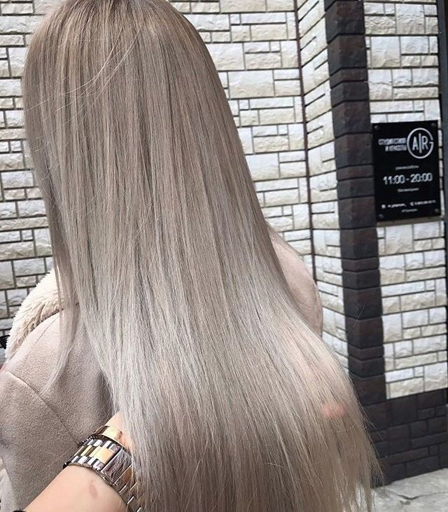 2019 Coolest Hair Color Trends Ecemella Ash Blonde Hair Hair Styles Balayage Hair
