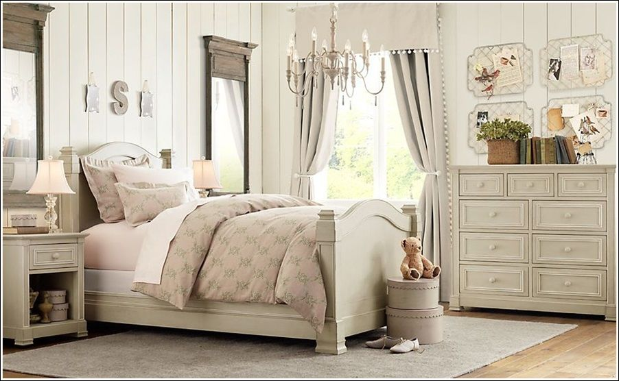 This one is a girls' room that is done in very light beige ... on Beige Teen Bedroom  id=91892
