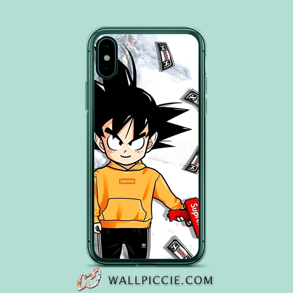 Goku Rich Hypebeast Anime Iphone Xr Case Iphone 8 Iphone 6s And