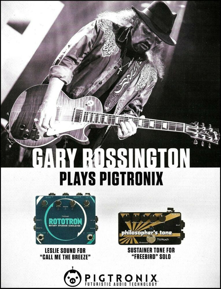 Details about Lynyrd Skynyrd Gary Rossington Les Paul
