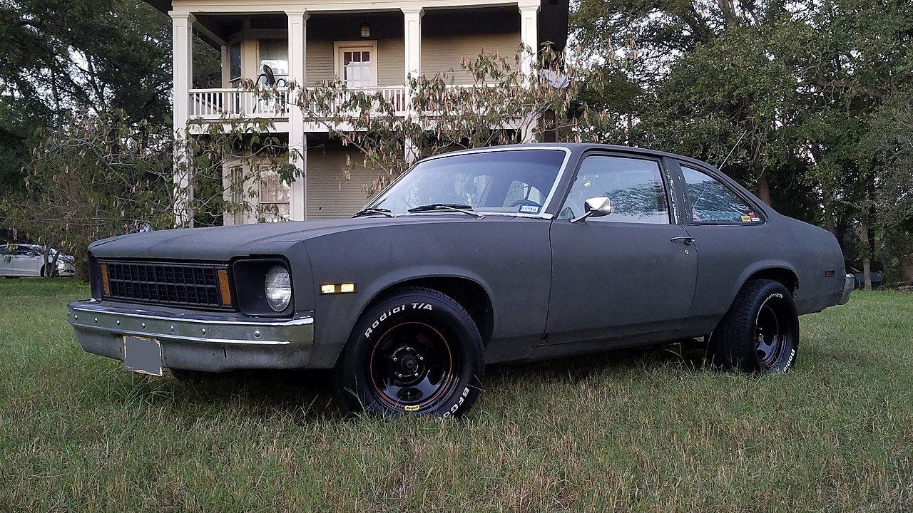 1977 Chevrolet Nova Coupe For Sale 100925915 Chevrolet Nova