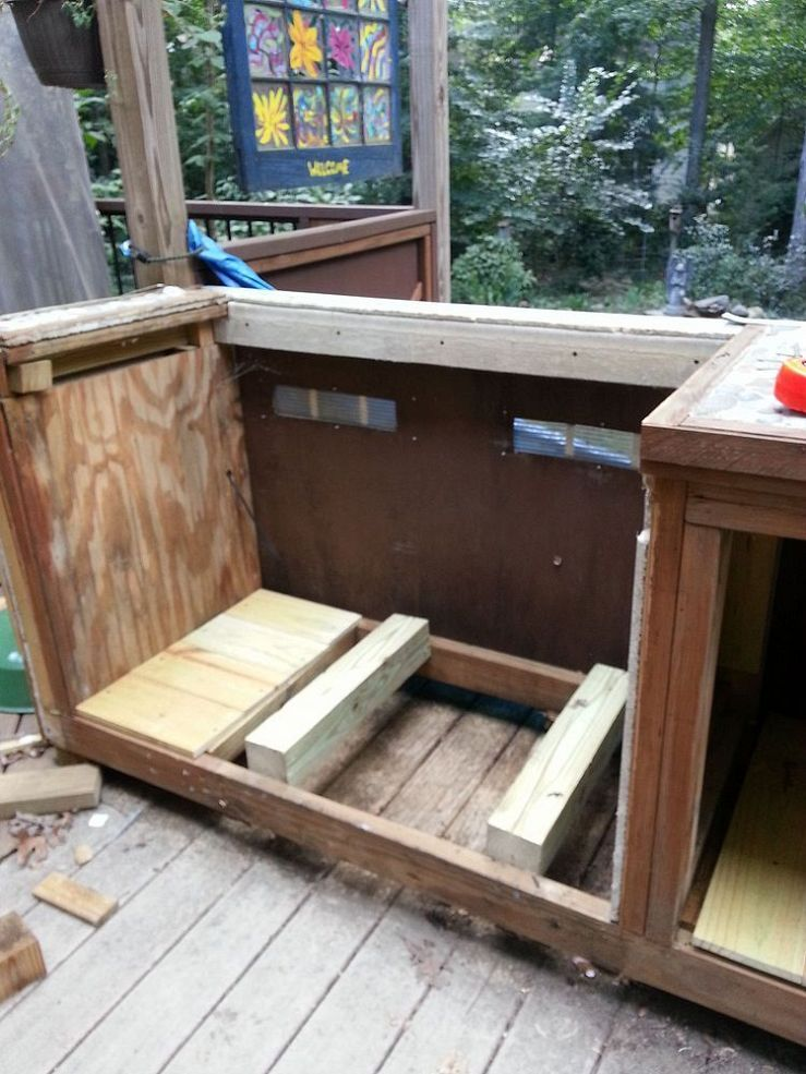 Making Your Grill Look Built In Building A Deck Outdoor Kitchen Design Diy Deck