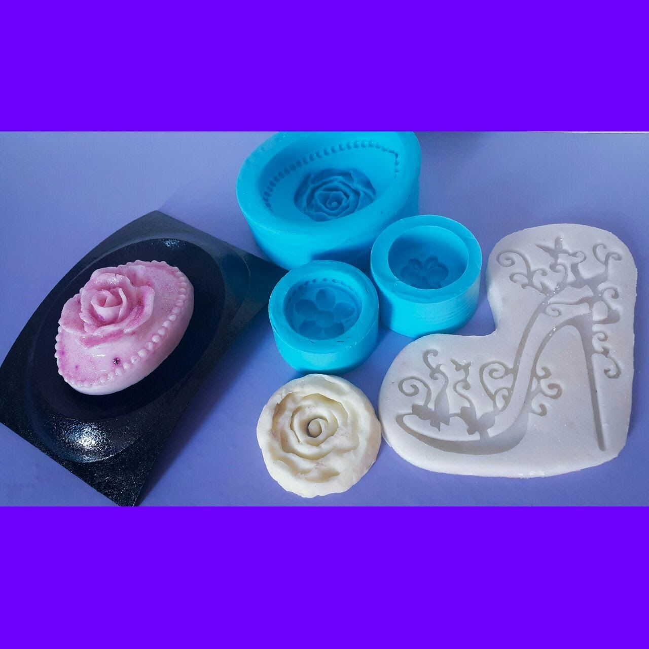 Como fazer molde de silicone caseiro e com borracha de silicone ... ef9b80ba824