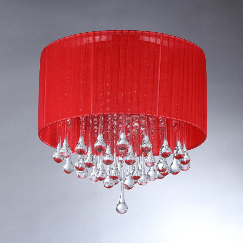Lighting Accessories Charming Image Of Crystal Clear Red