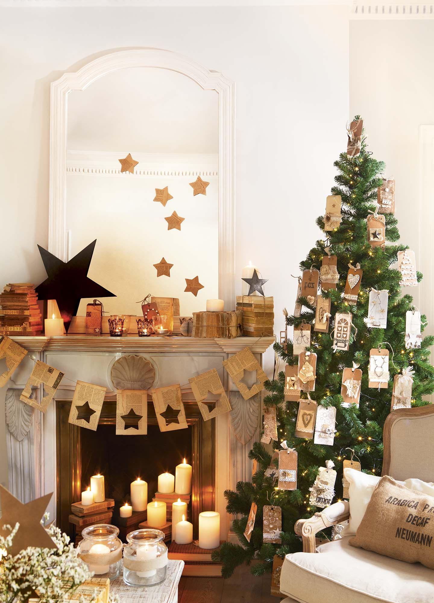 Decorar el rbol de navidad 15 propuestas de todos los - Decorar postales de navidad ...