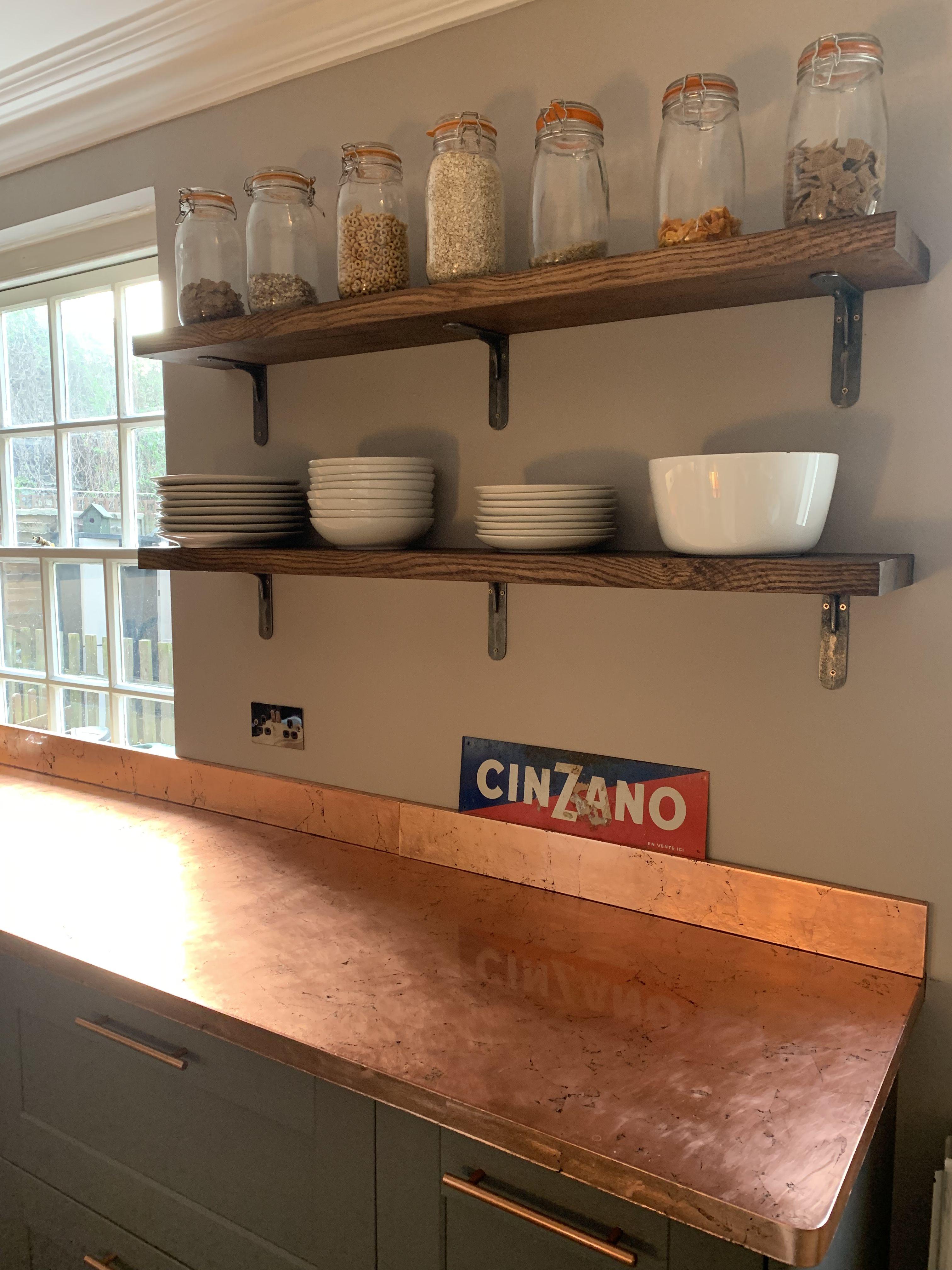 Copper kitchen counter worktop Copper kitchen, Kitchen