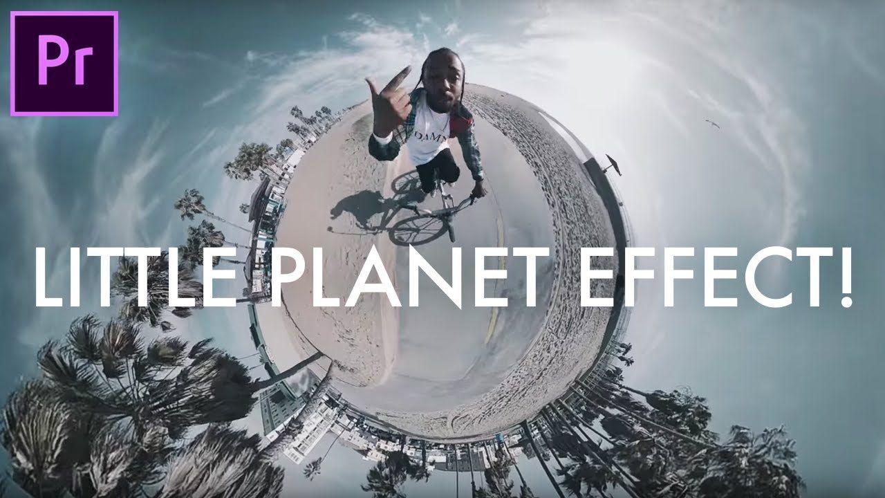 Create tiny planet photoshop