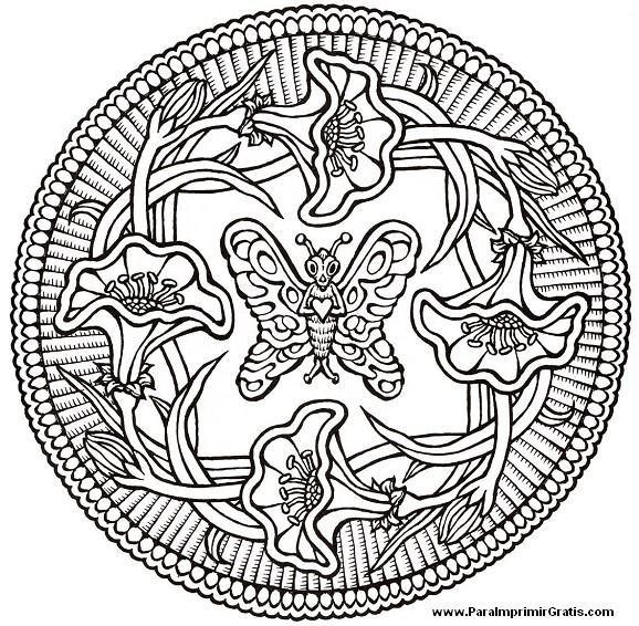 Mandalas de Animales | MANDALAS PARA COLOREAR | Pinterest | Mandalas ...