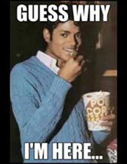 Michael Jackson Popcorn Meme : michael, jackson, popcorn, Michael, Jackson, Eating, Popcorn, Other, Funny, Photo, Comments, Pics), Meme,, Photos,