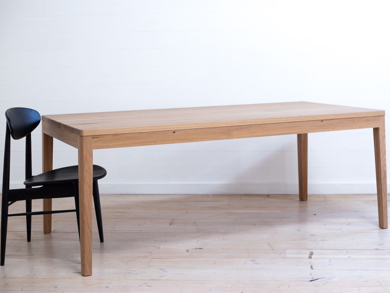 Mayfield American White Oak Dining Table By Retrograde Furniture Made Of Solid