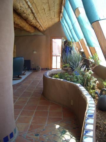 I want raised or sunken planters?  (Fruita Colorado earthship)