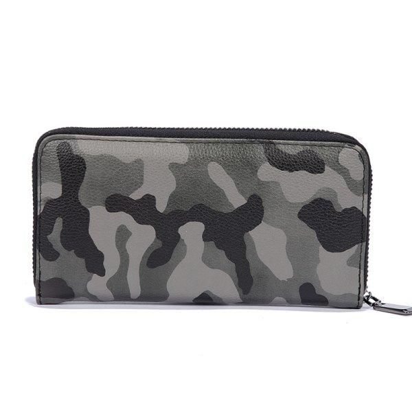 d063f7a794  Rosewholesale -  Rosewholesale Man s Camouflage Gray Stylish Fashion Cute  Wallet Outdoor Sporting Purse