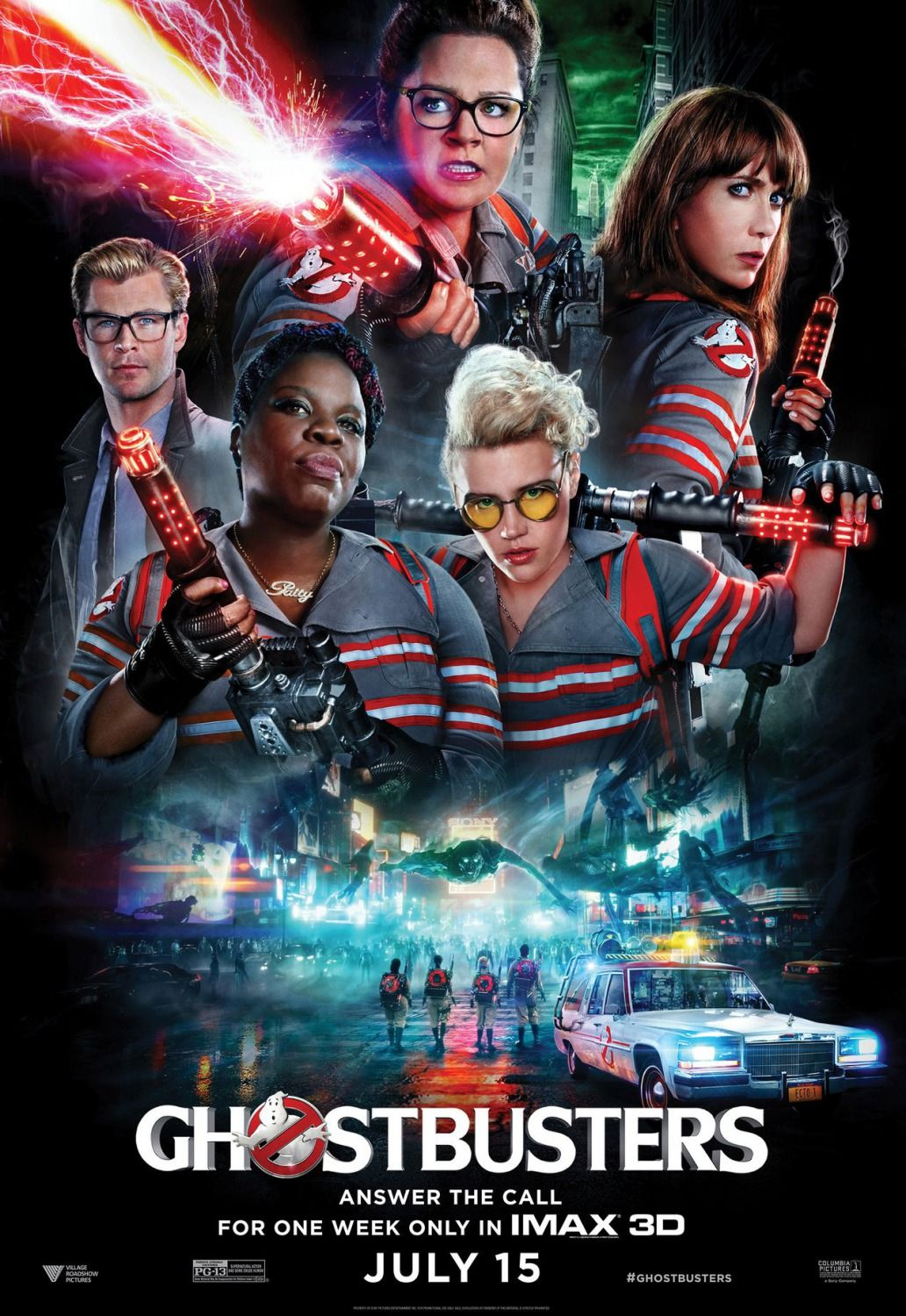 Ghostbusters 2016 New Clips Images And Posters Ghostbusters Movie Ghostbusters Poster Ghostbusters 2016