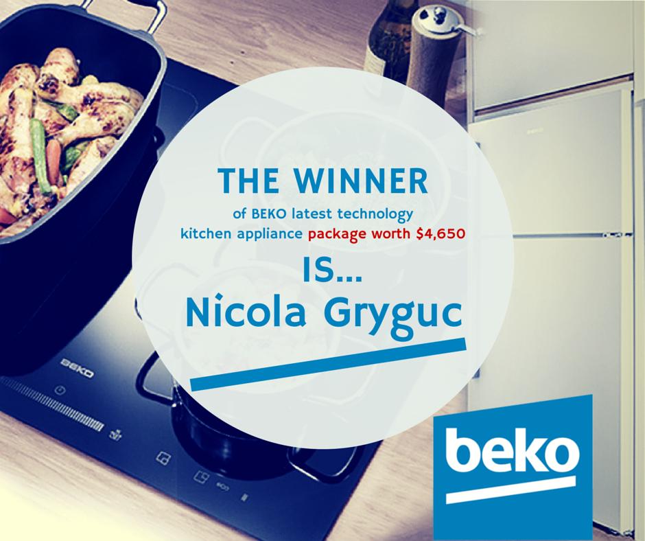 Big Congratulations To Nicola Gryguc Who Today Won Beko Latest