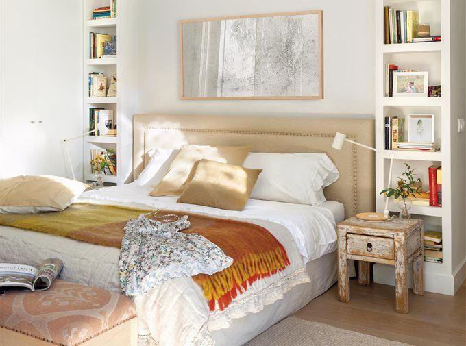 7 piezas imprescindibles para dormitorios peque os Dormitorios matrimoniales pequenos