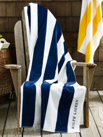 Ralph Lauren Beach Towel Cabana Striped Beach Towel Ralph Lauren