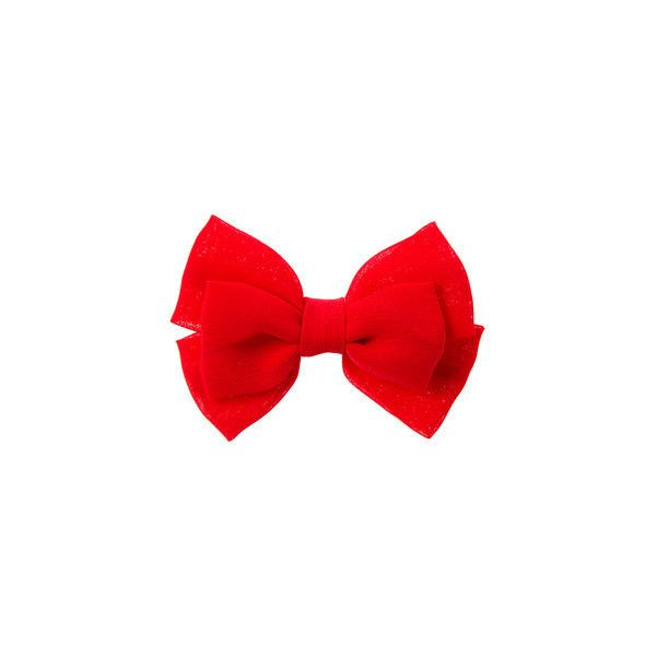 Mini Red Double Bow Hair Clip | Claire's ($3.50) ❤ liked on Polyvore featuring accessories, hair accessories, bow hair clips, red hair clip, red hair accessories, bow hair accessories and claire hair accessories