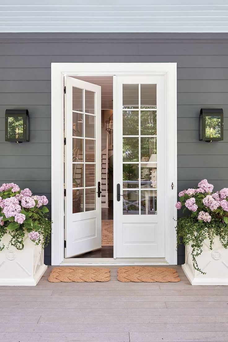 Pin by Rhonda Dianne Gee on Entrance French doors patio
