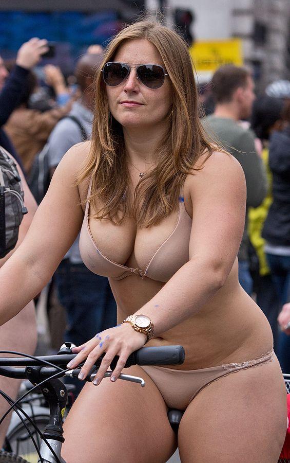 Plus Size Naked Bike Ride