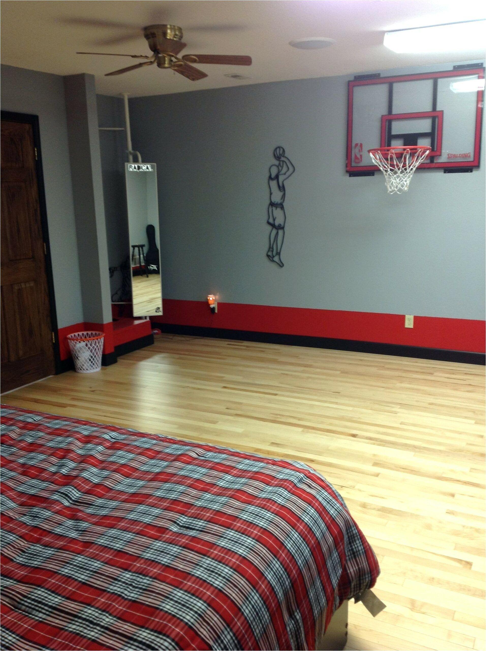 Deco Chambre Garcon Ado Basket Ball en 8  Deco chambre garcon